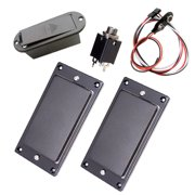 Dual Coil Closed Humbucker Pre-Wired Guitar Pickup Instrument Sound Pick UP Device with and Tone