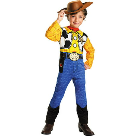 Toy Story Woody Child Halloween Costume - Belly Showing Halloween Costumes