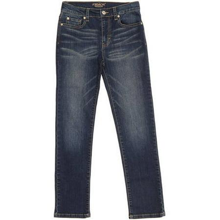 Jordache Boys' Slim Fit Dark Tint Stretch Denim Jeans