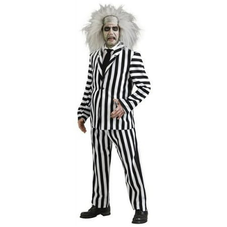 Beetlejuice Cape - Beetlejuice Deluxe Adult Halloween Costume