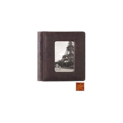 Raika AM 170 ORANGE 4inch x 6inch Scrapbook Front Framed Album - Orange
