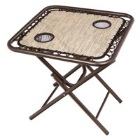 Foldable Sling Table w/ 2 cup holders