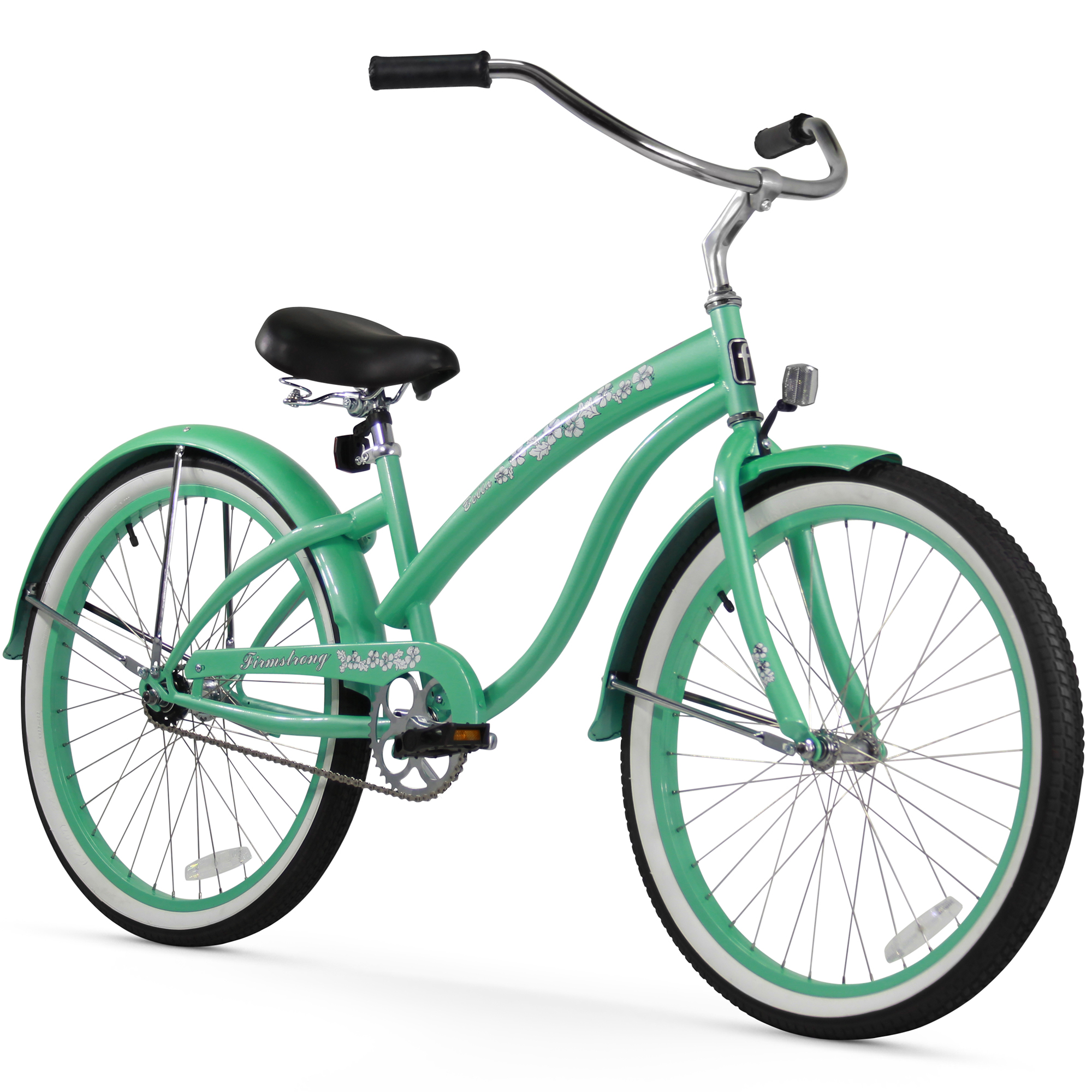 "Firmstrong Bella Classic, 26"", Women's, Single Speed, Mint Green"