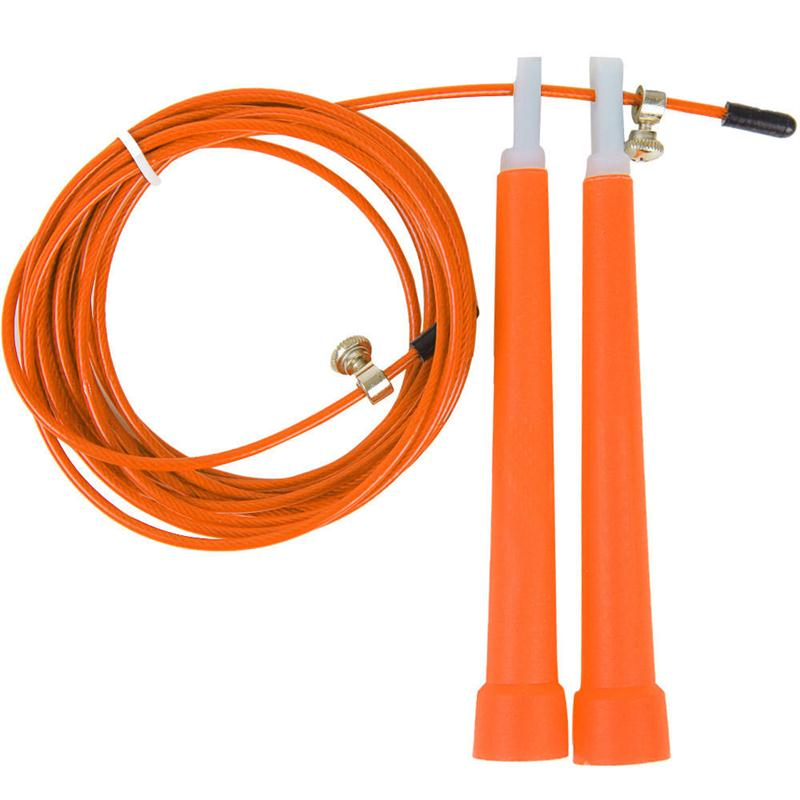 New Fashion High speed Steel Wire Skipping Adjustable Jump Rope Fitness Equipment RD