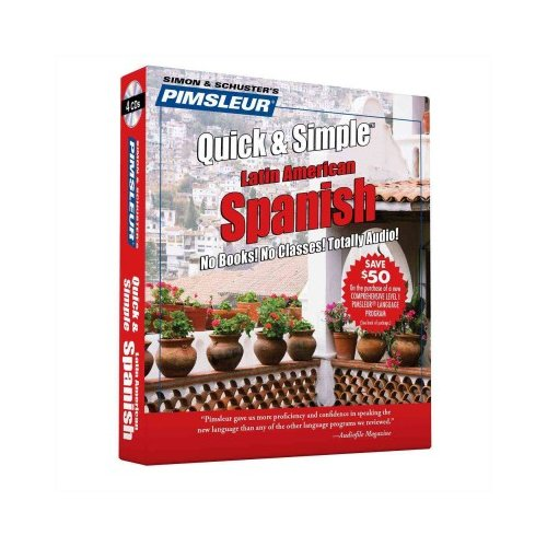 Pimsleur Quick & Simple Spanish 1: Latin American Spanish