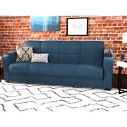 Montero Microfiber Convert A Couch Futon Sofa Sleeper Bed Multiple Colors Best Sofas Couches