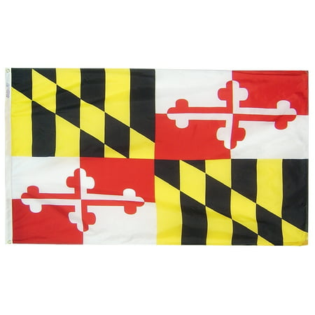 Maryland State Flag 3x5 ft. Nylon Official State Design Specifications.