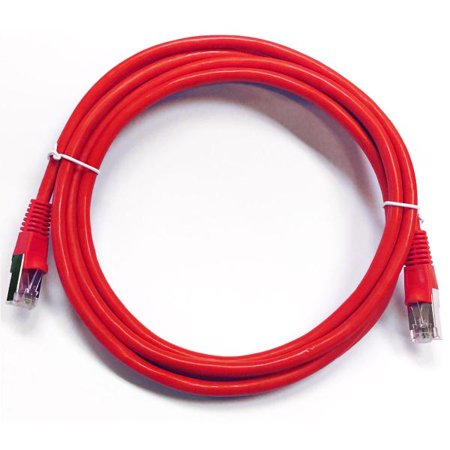 75' CAT6 (500MHz) STP Shielded Network Cable - Red - image 1 de 1