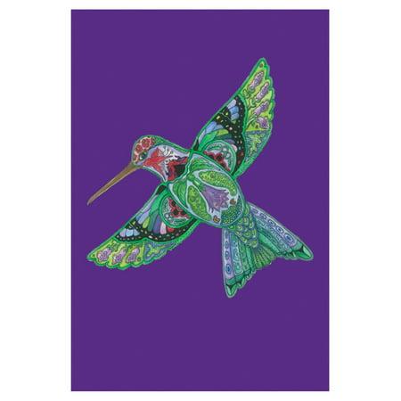 Toland Home Garden Animal Spirits - Hummingbird Flag - School Spirit Flags