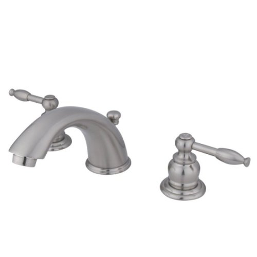 """Kingston Brass Magellan Two Handle 4"""" to 8"""" Mini Widespread Lavatory Faucet with Retail Pop-up - image 1 of 1"""