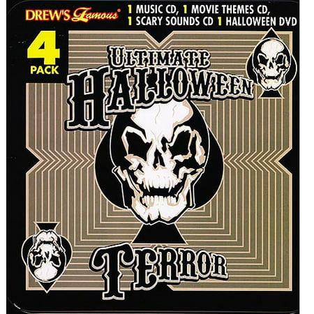 Halloween Dvd Box Set.Drew S Famous Ultimate Halloween Terror 4 Disc Box Set 3cds And