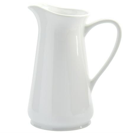 Denmark 2.8 L Pitcher White Porcelain Chip Resistant Commercial covid 19 (Ring White Pitcher coronavirus)