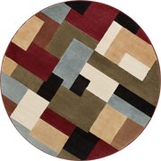 "Well Woven Barclay River Modern Abstract Geometric Red 3'11"" x 5'3"" Area Rug"