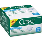Curad Sterile Alcohol Swabs, 200 count