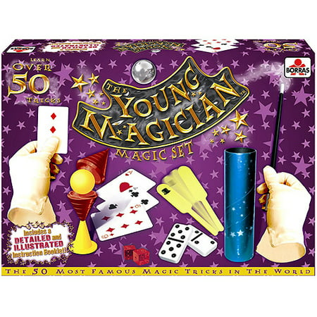 The Young Magician 50-Trick Magic Set (Halloween Party Magic Tricks)