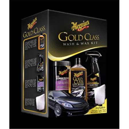 Meguiars G55114 Gold Class Wash And Wax Kit Walmart Com