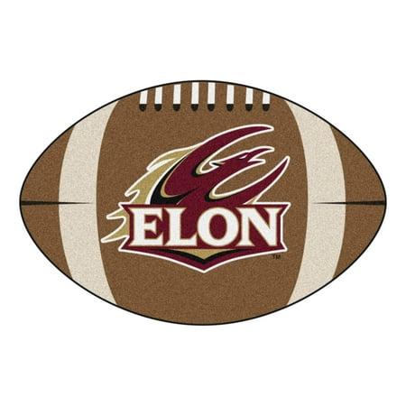 Elon Football Rug 20.5