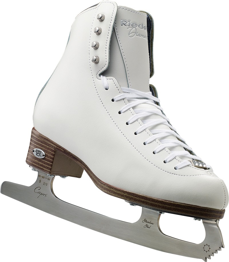 Riedell 33 Diamond Junior Girls Figure Skates by