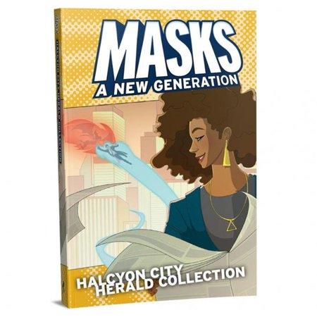 Magpie Games MAE018 Masks Halcyon City Herald Collect HC Jeux de r-le - image 1 de 1