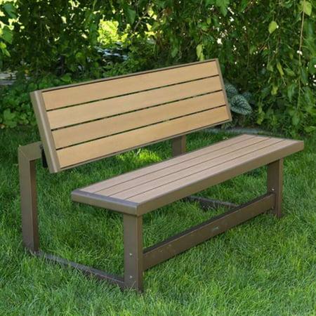 Lifetime Outdoor Convertible Bench, 60139