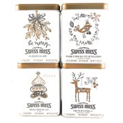 Swiss Miss Holiday Hot Cocoa Gift Set, 4 Pack Mix Assortment Perfect Christmas Gift
