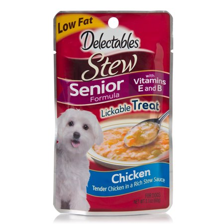Delectables Stew Senior for Dogs, Chicken