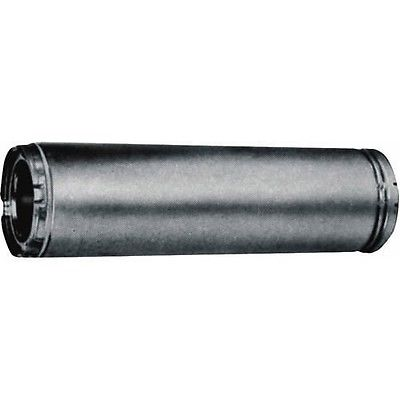 "American Metal 6"" x 24"" Insulated Triple Wall Chimney Stove Pipe 6HS-24"