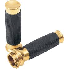 Todds Cycle Vice Grips Brass/Rubber Fits 08-11 Harley-Dav...