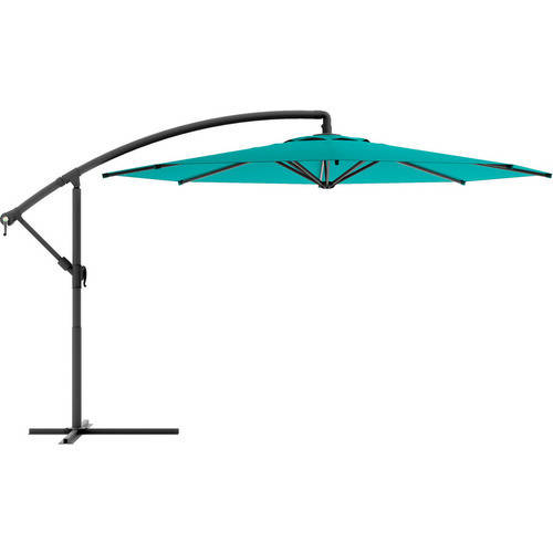 CorLiving Offset Patio Umbrella, Multiple Colors by Patio Umbrellas