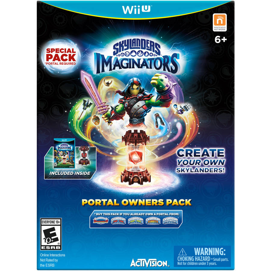 Skylanders Imaginators Portal Owners Pack (WalMart Exclusive) (Wii U)