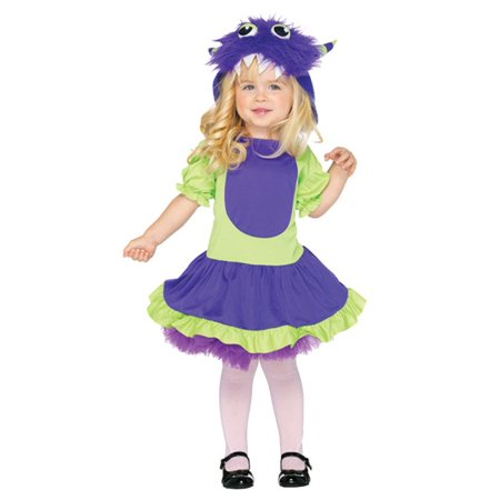 Cuddle Monster Toddler Costume - Monsters Inc Boo Costume 2t