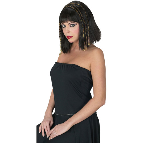 Egyptian Queen Wig Adult Halloween Accessory