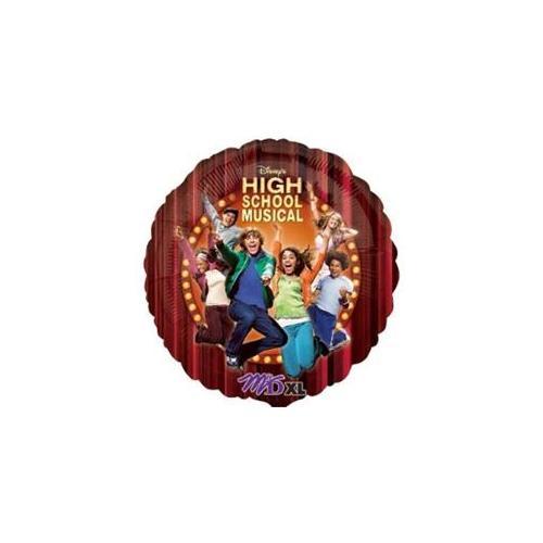 Bulk Buys 18 inch Foil Balloon- High School Musical - Pack of 4