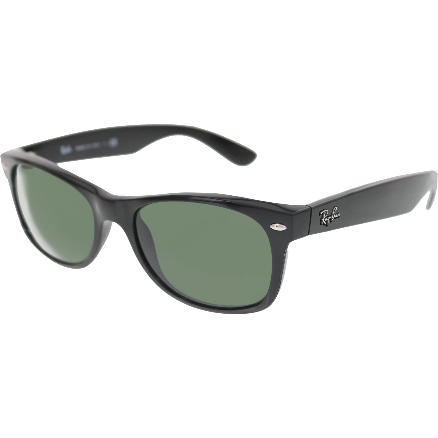 ray ban sunglasses new orleans  ray ban men's new wayfarer rb2132 901 52 black wayfarer sunglasses walmart