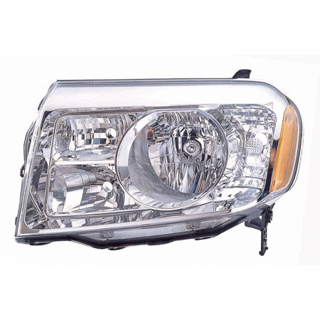 2009-2011 Honda Pilot  Aftermarket Driver Side Front Head Lamp Lens and Housing 33150SZAA01 NSF