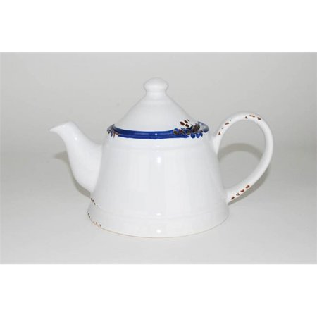 100 Essentials 8005105 Enamel style tea pot