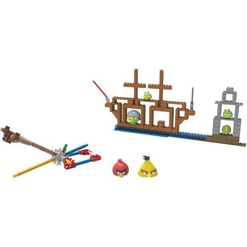 K'NEX Angry Birds All Hams on Deck Building Set