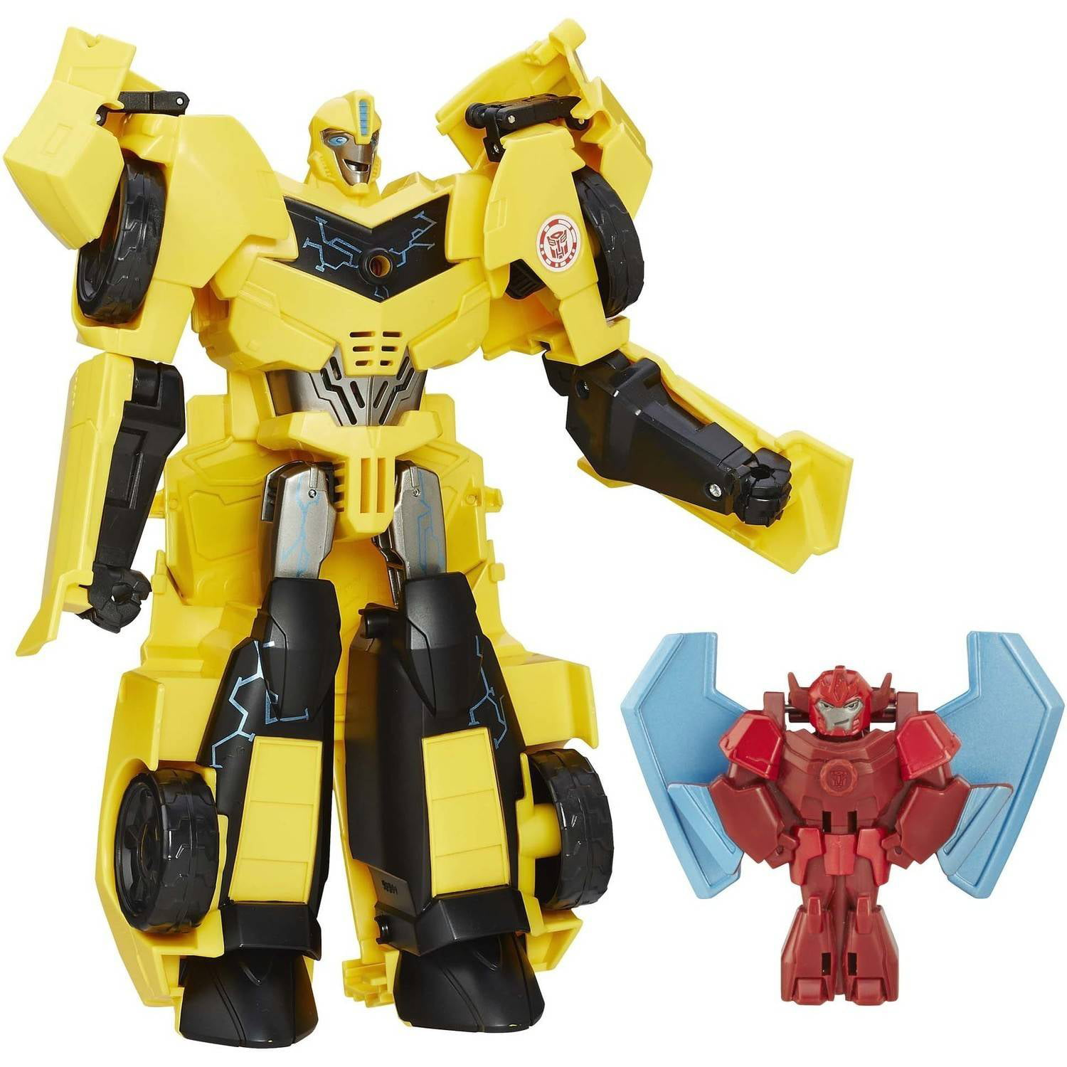 Transformers: Robots in Disguise Power Surge Bumblebee and Buzzstrike by Hasbro