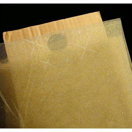 Gold Drapery Fabric - 54