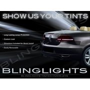 2012-2014 VW EOS Smoke Tail Light Lamp Tint Overlay Kit Taillamps Volkswagen Tinted Protection Film