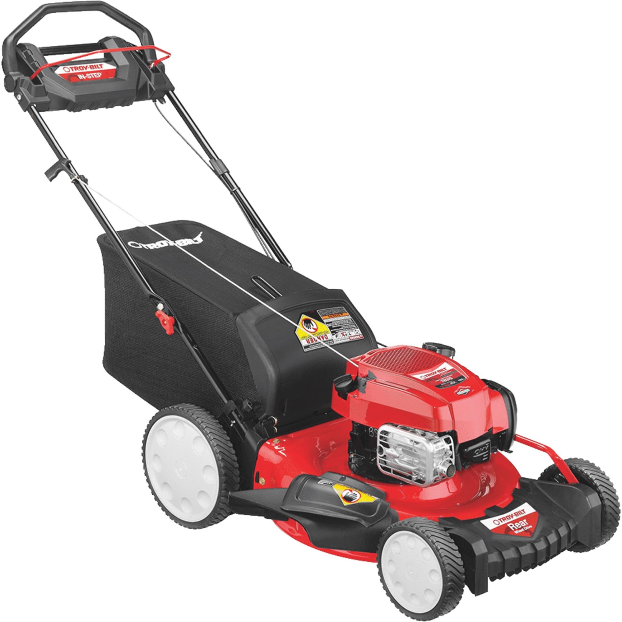 Troy-Bilt TB370 21 In. High Wheel Rear Wheel Drive Self-Propelled Gas Lawn Mower by MTD PRODUCTS INC