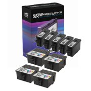 Speedy Compatible Cartridge Replacement for Kodak #10B & Kodak #10C (5 Black, 4 Color, 9-Pack)