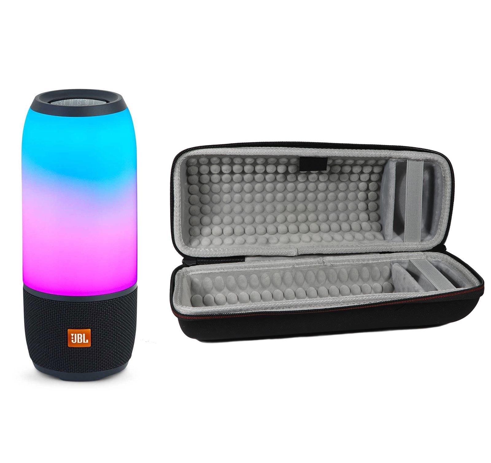 JBL Pulse 3 Black Bluetooth Speaker & Hardshell Case Kit by JBL