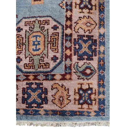 Rugsotic Carpets Hand Knotted Afghan Wool And Silk 5