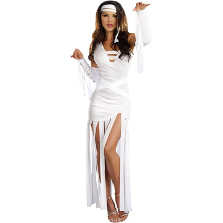 Mummy Dearest Women's Adult Halloween Costume - Homemade Mummy Costume Ideas