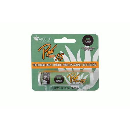 Image of Aloe Up Pro Ultra Sport Lip Care SPF 15, Mint, 0.15 Oz