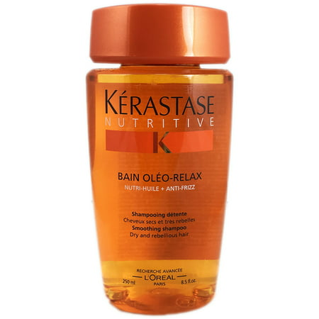 L'Oreal Nutritive Bain Oleo-Relax-Smoothing Shampoo For Dry Hair (Kerastase Nutritive Bain Oleo Relax Smoothing Shampoo Review)