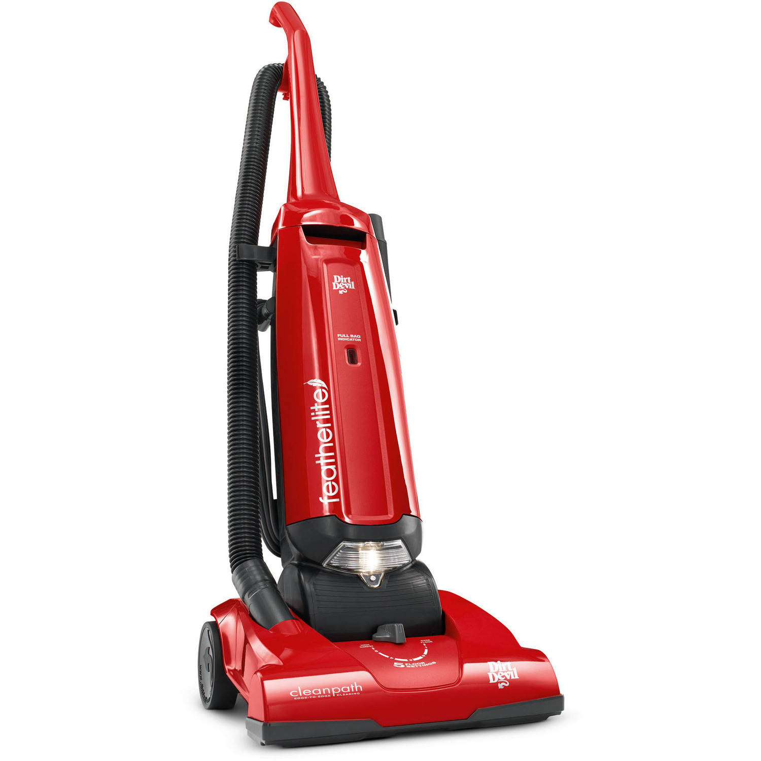 Dirt Devil Featherlite Bag Upright Vacuum, UD30010