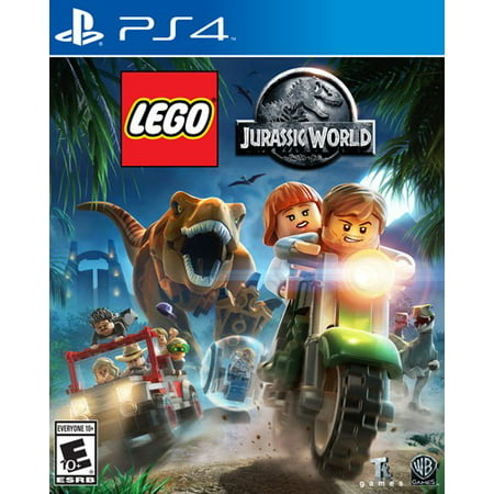 Lego Jurassic World  Warner  Playstation 4  883929472833