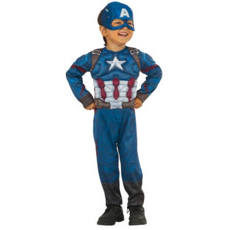 How can I make a Captain America costume in time for October 27th with cheap supplies?